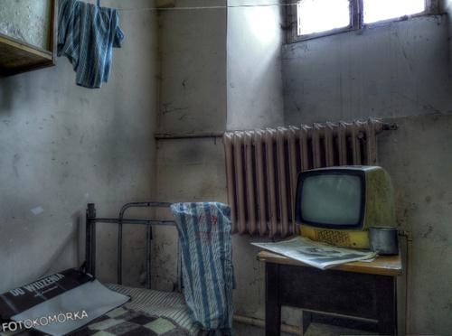 Cela w opuszczonym więzieniu