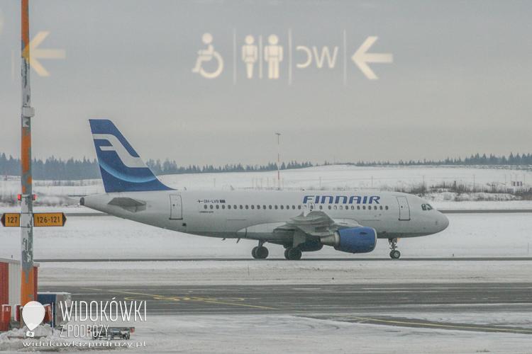 Vantaa airport.
