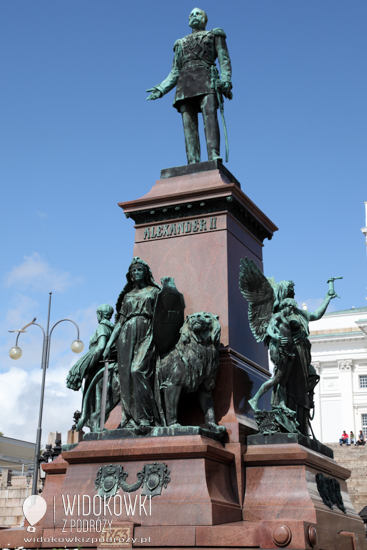Monument of Alexander II at Senate Square.