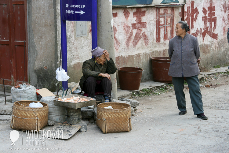 Streets in Guilin. China.