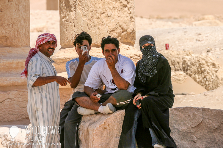 They also took pictures of us. Palmyra 2008.