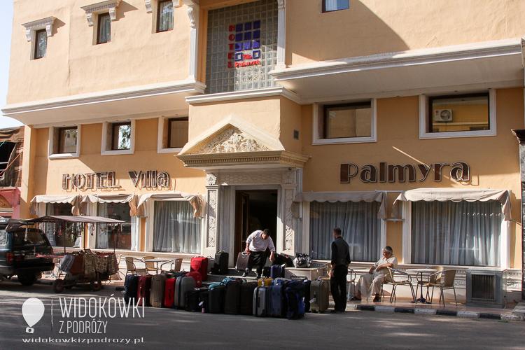 Hotel Villa Palmyra in Tadmur.