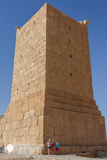 Tomb tower. Palmyra 2008.