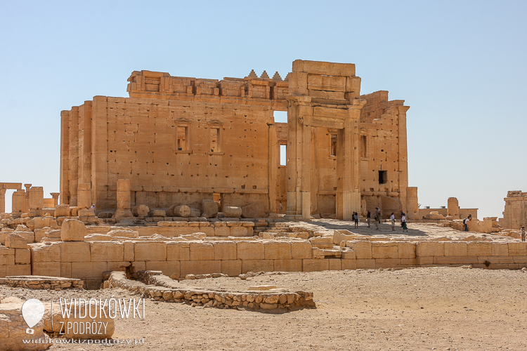 Temple of Bela - the best preserved building in the whole Palmyra. 2008.