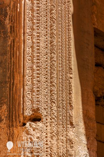 Ornaments on the walls. Palmyra 2008.