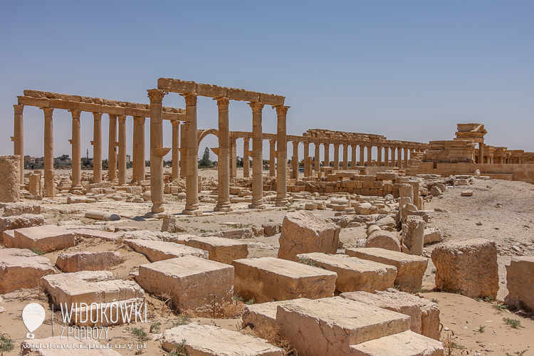 Great Colonnade. Palmyra 2008.