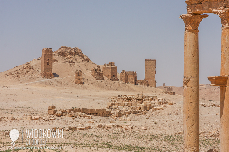 The ruins of the Tomb of the Tower. Palmyra 2008.
