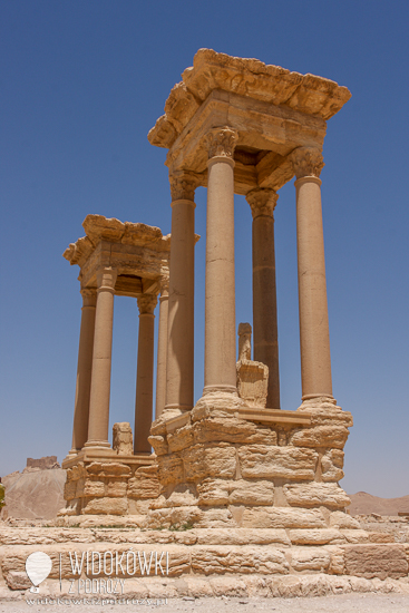 Tetrapylon. Palmyra 2008.