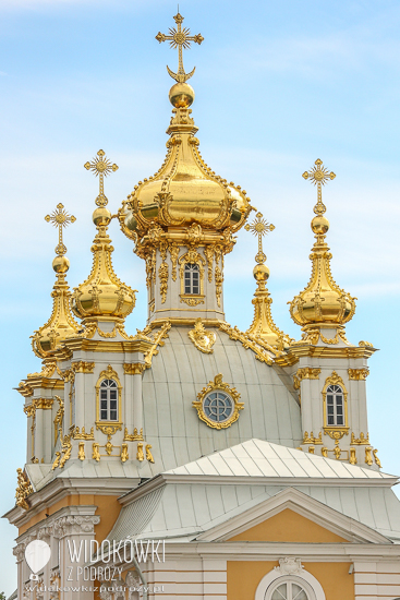 Grand Palace. Peterhof.