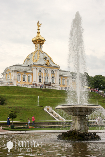 Lower garden. Peterhof.