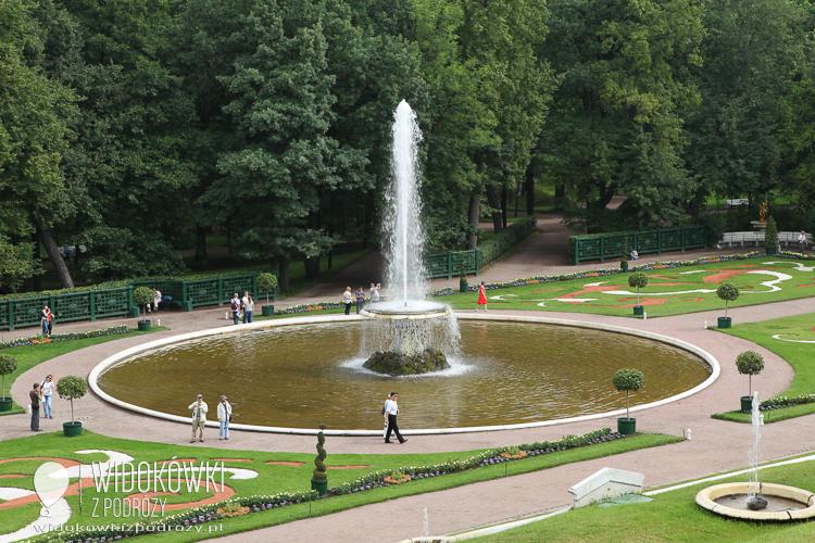 Fountain in the Lower Garden. Peterhof.