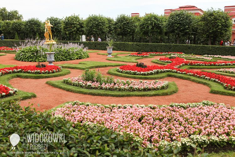 Lower garden. Peterhof.