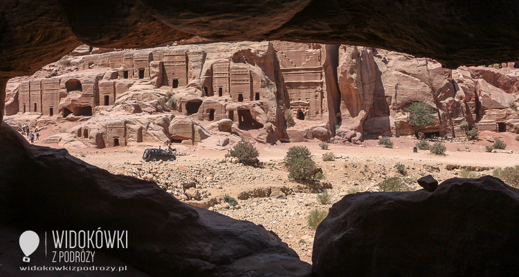 Tombs of the palace - Petra