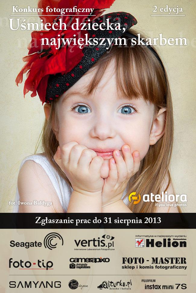 Uśmiech dziecka - największym skarbem