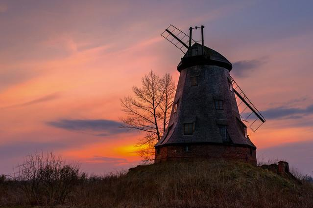 Moje Żuławy- wiatrak holenderski w Plczewie. FotoMarian
