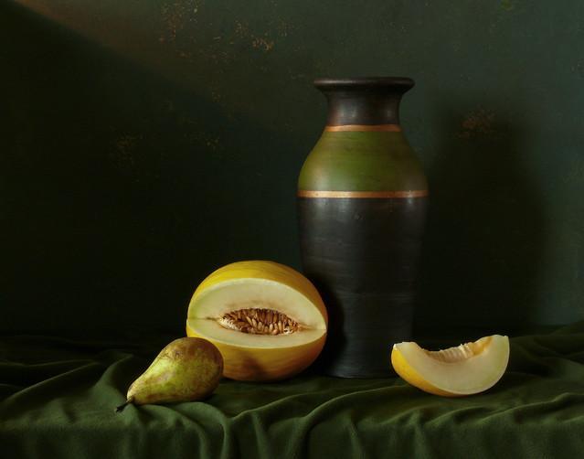 Martwa natura z melonem Marcel #272616