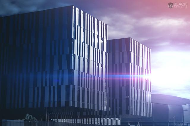 Przyszłość architektury Fornebuporten, Fornebu - Norwegia.
