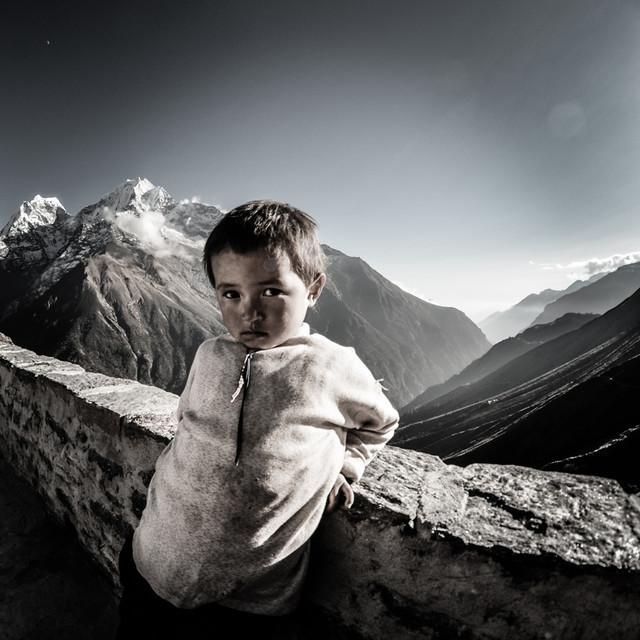 Little Sherpa II Gokyo 2010 TomaszOlczak #261836