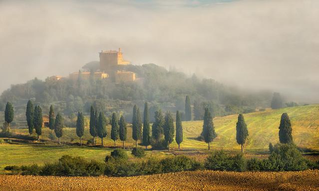 Mglisty ranek Włochy JAN SIEMINSKI #261824